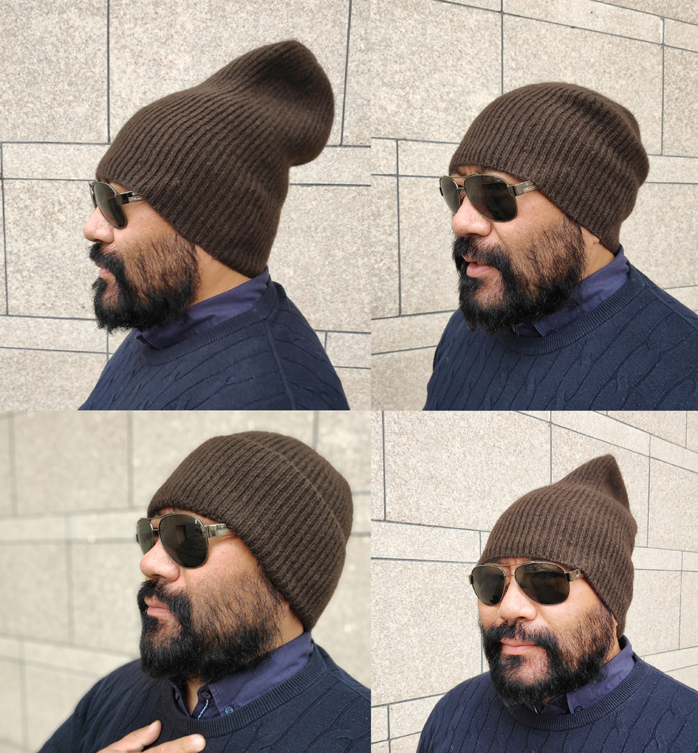 yak wool beanie yakamel, multiple style wear, beanie for cold weather winter