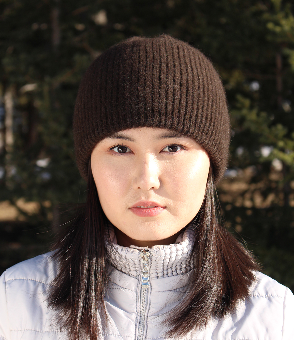 best warm beanie for women, yak wool beanie hat for winter cold weather