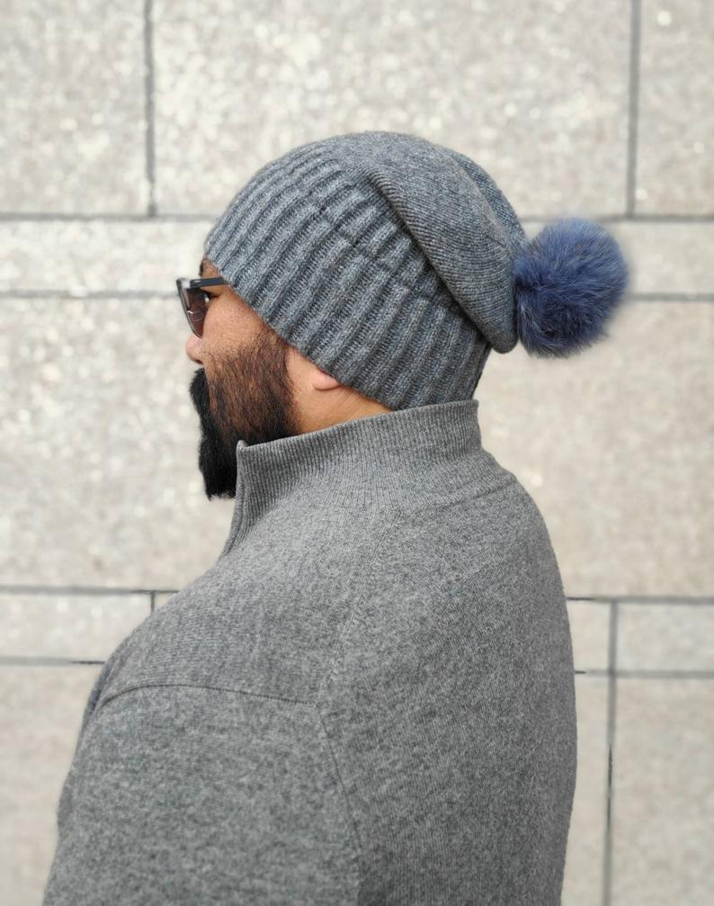 cashmere beanie for women & men
