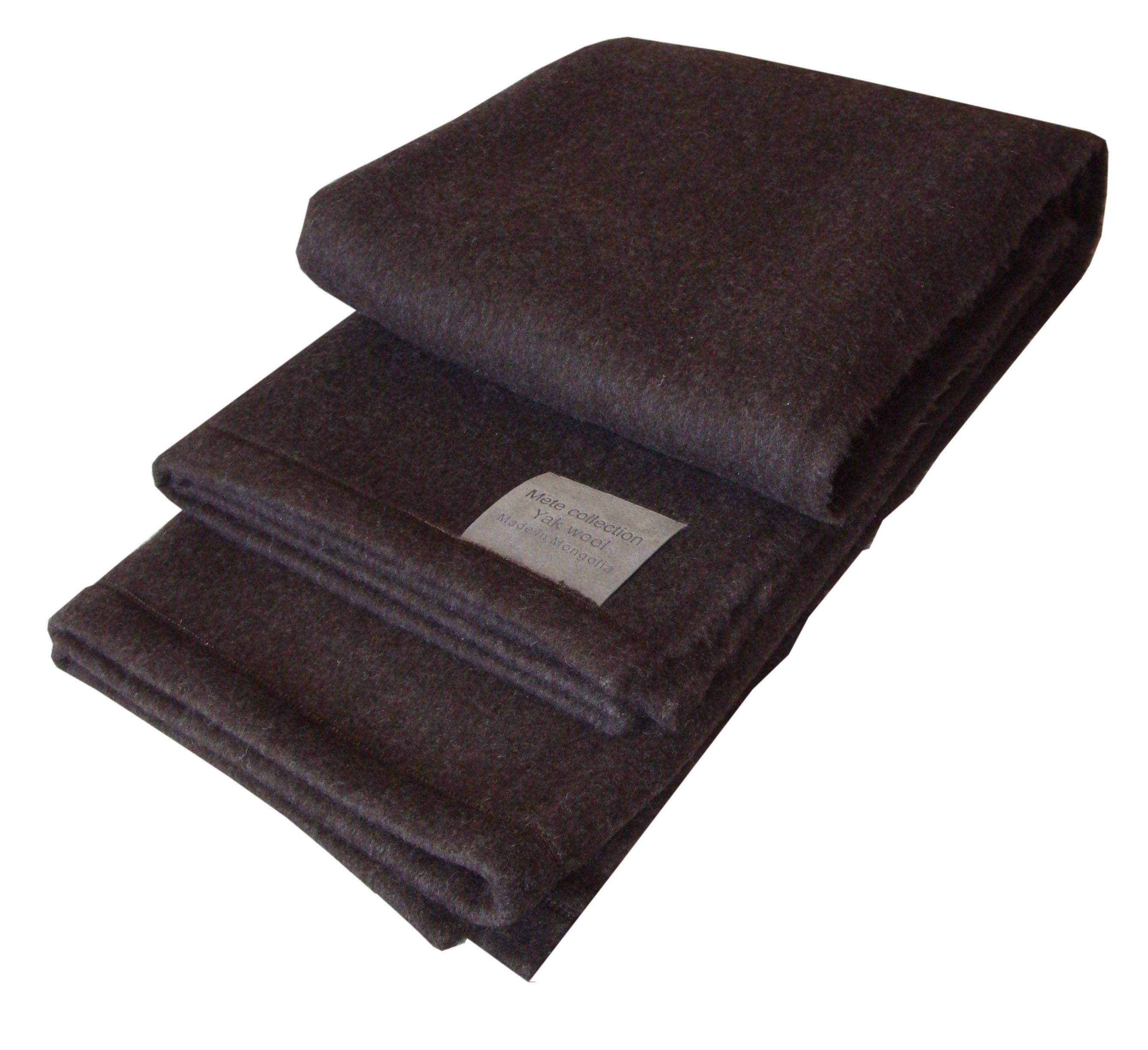 warm yak wool blanket
