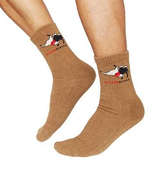 super warm camel wool socks for hiking
