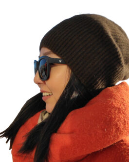 Thick yak wool beanie hat for winter (-35C/-31F), unisex