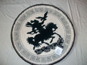 Mongol felt rug