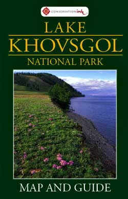 Lake Khovsgol map