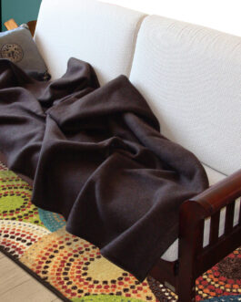 yak wool blanket (BROWN)