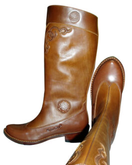 mongolian boots(brown)