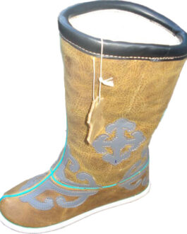 Mongolian buriad ethic boots