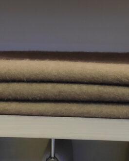 Cashmere blanket 200x150cm Gobi, brown