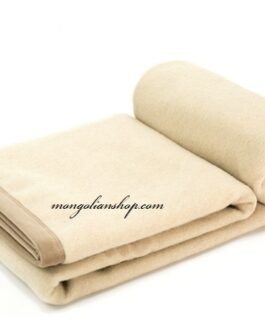Cashmere blanket 200x145cm white Gobi