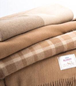 camel wool blankets