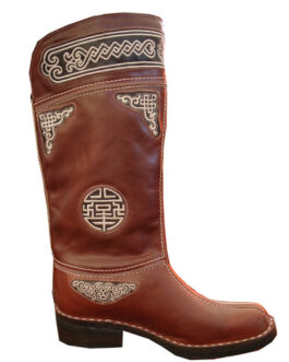 Mongolian boots Heetei (brown)