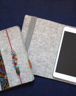 Ipad mini case. Felt case. Hand made.