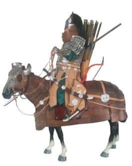 Mongolian armoured hero