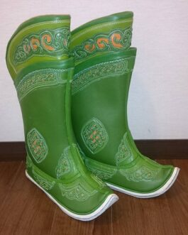 Mongolian boots (light green)