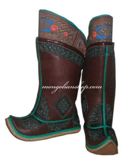 Mongolian boots (brown)