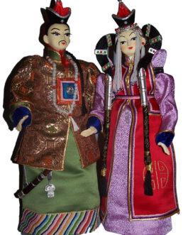 Mongolian queen&taij