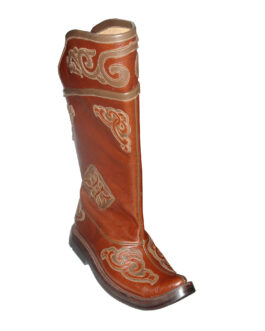 Mongolian curved toe  boots