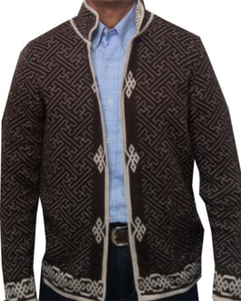Men's jacket (sheep wool)