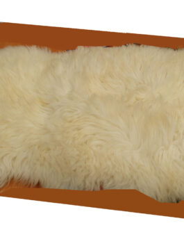 Sheep fur (for seat or as rug)