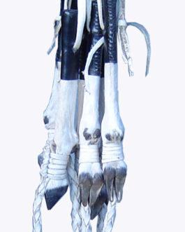 Horse whip made from gazelle leg