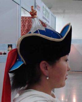 women's hat (high brim)