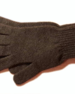 Yak wool gloves (brown)