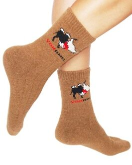 Camel wool socks (Mongolian camel wool socks)