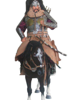 Mongolian horse warior