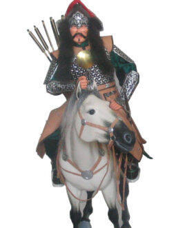 Mongolian horseriding warior